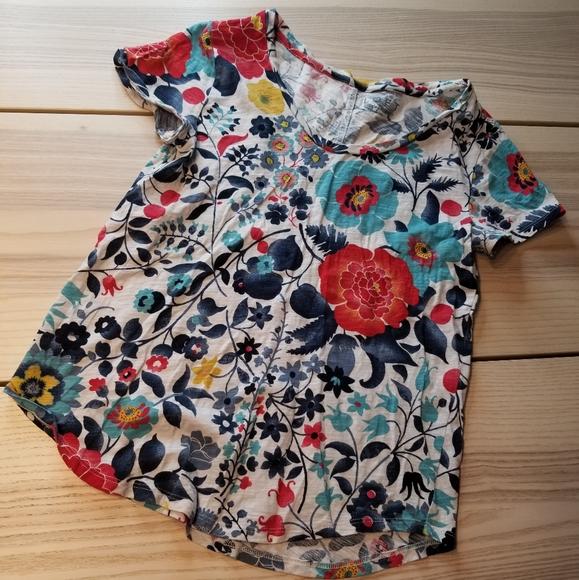 Loft Vintage Soft floral tshirt